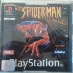 Vand jocuri PS1, PLAYSTATION 1, colectie, SPIDER MAN 1 - Joc PS1 Ea Games, Actiune, Single player, 12+
