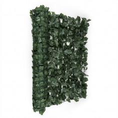 Blumfeldt Fency parbriz de confidențialitate 300 x 100 cm, de culoare închisă- iederă verde