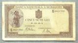 A1137 BANCNOTA-ROMANIA-500 LEI-19-VII-22-(19)41-SERIA0621380-starea care se vede