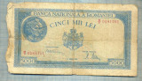 A1177BANCNOTA-ROMANIA-5000 LEI-21 AUGUST1945-SERIA0181761-starea care se vede