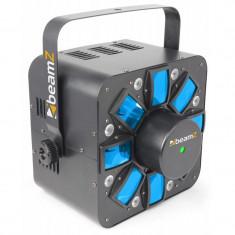 Beamz Multi Acis III LED efect luminos stroboscopic RGBAW cu laser incl. Suport - Stroboscop club