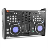 Power Dynamic PDX125, dual DJ CD player controler cu SD, USB, CD, MP3