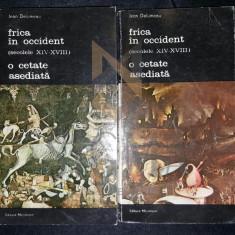 JEAN DELUMEAU TRADUCERE DE MODEST MORARIU - FRICA IN OCCIDENT (SECOLELE XIV-XVIII), O CETATE ASEDIATA (DOUA VOLUME)