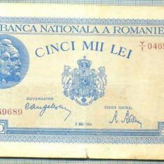 A1175BANCNOTA-ROMANIA-5000 LEI-2 MAI 1944-SERIA0469689-starea care se vede - Bancnota romaneasca
