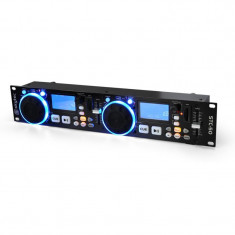 Player Skytec STC-50 DJ MP3- cu 2 punți, USB, SD - CD Player DJ