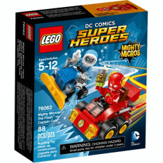 Lego Super Heroes 76063 Mighty Micros: The Flash vs. Captain Cold Original Nou