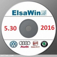 ELSA WIN 5.30 VAG Group NEW ElsaWin FULL Pack 2014-2015-2016 - Limba ROMANA - Manual auto, Manual reparatie auto