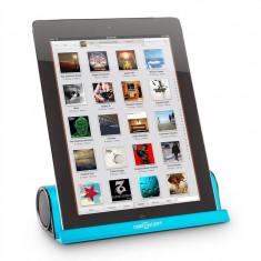 OneConcept Padlock, difuzor Bluetooth cu suport pentru tabletă, baterie, aluminiu