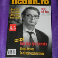 Revista sf FICTION.RO nr 4 (5783 - Carte SF