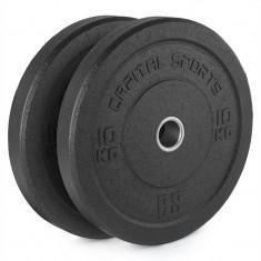Capital sport Renit Hi placă greutate 50.4 mm miez de aluminiu, cu cauciuc 2x 10 kg