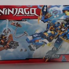 Lego Ninjago 70602 Dragonul lui Jay's Elemental Dragon Original Nou Sigilat