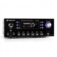 SKYTRONIC 103.206 AV-100 amplificator HiFi karaoke USB - Amplificator audio Skytronic, 41-80W