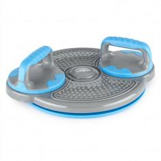 Klarfit Clear Twist Putere Twister 3-in-1 Balance Board pt flotari, bare albastre - Aparat flotari