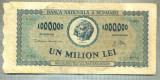 A1123 BANCNOTA-ROMANIA-1000000 LEI-16 APRILIE 1947-SERIA0021-starea care se vede