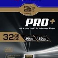 Verbatim Pro+ microSDHC U3 32GB with adapter - Card memorie