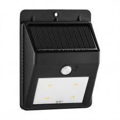 Lumina ambarcațiuni Solarlux solară în aer liber de lumină Propunerea 4 LED-uri fără fir alb rece