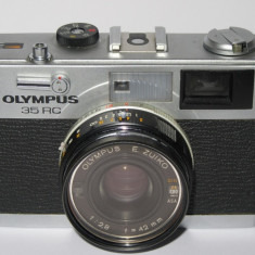 Aparat foto Olympus 35 RC - 1970 - Rangefinder - Transport gratuit prin posta! - Aparat Foto cu Film Olympus, RF (Rangefinder)
