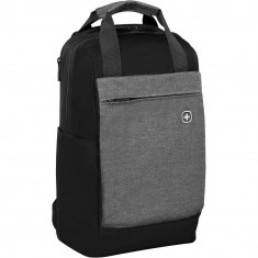 Wenger Bahn Laptop Backpack, Black