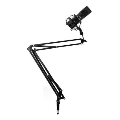 Seturi de braț de microfon & Microfon cu condensator, negru foto