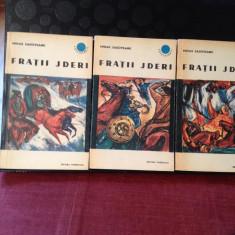 FRATII  JDERI, de Mihail Sadoveanu, 3 vol.
