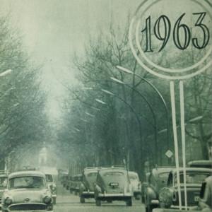 REVISTA AUTO MOTOR UNGARIA - AN 1963 LEGATE 24 DE NUMERE - MASINI RETRO VINTAGE
