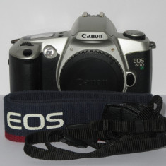 Canon Eos 500 N - Body + Curea Canon Eos originala - Transp gratuit prin posta! - Aparat Foto cu Film Canon