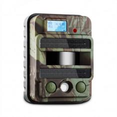 DURAMAXX GRIZZLY MAX PIR, aparat foto de vânătoare, capcană foto, 40 LED-uri negre, 8 MP, HD, USB, SD, 100°