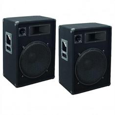 Pereche boxe Omnitronic DX 1522 1600 W PA - CD Player DJ