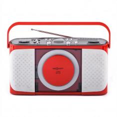 OneConcept Boomtown-Girl, CD player portabil, radio