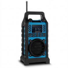 Vorbitori în aer liber DuraMaxx site-ului Radio DAB / DAB + Bluetooth - albastru