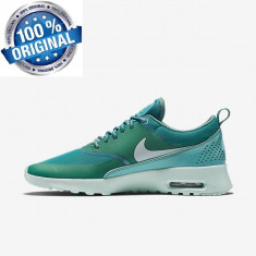 ADIDASI ORIGINALI 100% Nike Air Max THEA Triple Green din germania NR 38 - Adidasi dama Nike, Culoare: Din imagine