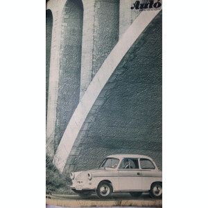 REVISTA AUTO MOTOR UNGARIA - AN 1962 LEGATE 24 DE NUMERE - MASINI RETRO VINTAGE