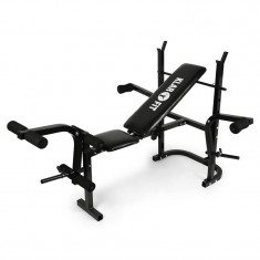 Bancă pt. exerciții Klarfit FIT-HB3BC Multi Gym Weight Bench - Banca de exercitii