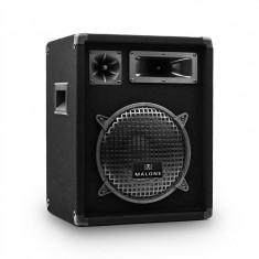 Malone PW-1022 DJ PA 3-Way Difuzor 25 cm 400 W, Boxe compacte