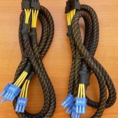 Cabluri sursa modulara pci-e Enermax 12pin la 2x6+2pin - Sursa PC