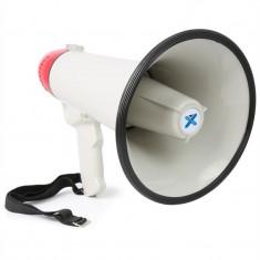 Vexus MEG045, megafon, 40W, funcție de înregistrare, sirenă, USB, SD, AUX, inclusiv curea