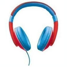 TRUST SONIN KIDS HEADPHONE - RED/BLUE, Casti On Ear, Cu fir, Mufa 3, 5mm