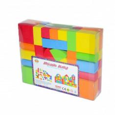 Set cuburi din burete - 78 piese - Jocuri Seturi constructie, Unisex