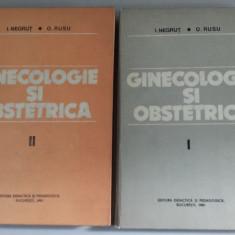 I. Negrut, O.Rusu -Ginecologie și obstetrica (2 Vol. ) - Carte Obstretica Ginecologie
