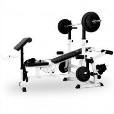 Bancă pentru greutăți Klarfit FIT-KS02 Home Gym Workout Machine - Banca de exercitii