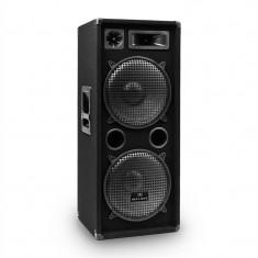 Auna PW-2222 DJ PA 3-Way Difuzor 2 x 30 cm 1000 W