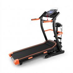 Klarfit Pacemaker FX5 Banda de alergare 1.5HP 12 kmh ritmului cardiac monitor masaj sta-up - Aparat de vaslit