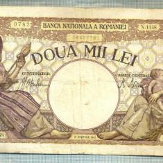 A1181 BANCNOTA-ROMANIA-2000 LEI- 18NOIEMVRIE 1941-SERIA1148-starea care se vede - Bancnota romaneasca
