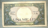 A1191 BANCNOTA-ROMANIA-1000 LEI-23 MARTIE 1943 -SERIA 2433-starea care se vede