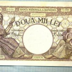 A1122 BANCNOTA-ROMANIA-2000 LEI- 18 NOEMVRIE 1941-SERIA0389-starea care se vede - Bancnota romaneasca