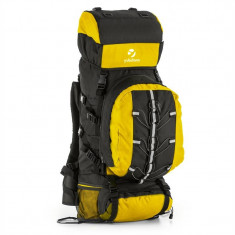 Yukatana Almer trekking rucsac 80l 40x80x35 cm daypack galben / negru