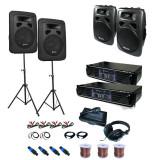 """Sistem audio PA """"Sidney"""" Set 2x 4x cutii de amplificare"""