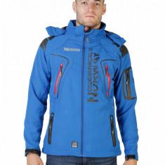 Jacheta ski cu gluga detasabila - Geographical Norway - art. Tambour, albastru - Geaca barbati Geographical Norway, Marime: M