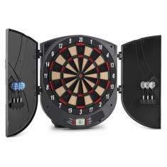 ONEconcept Tabla de darts Softtip 26 Jocuri de sunet - Set Darts