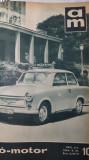 REVISTA AUTO MOTOR UNGARIA - AN 1964 LEGATE 24 DE NUMERE - MASINI RETRO VINTAGE